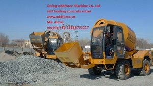 Фото: ADDFORCE self loading concrete mixer, No.1 QUALITY from China